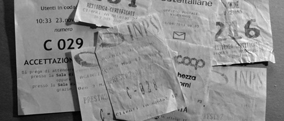 Nummer ziehen Behörde Italien