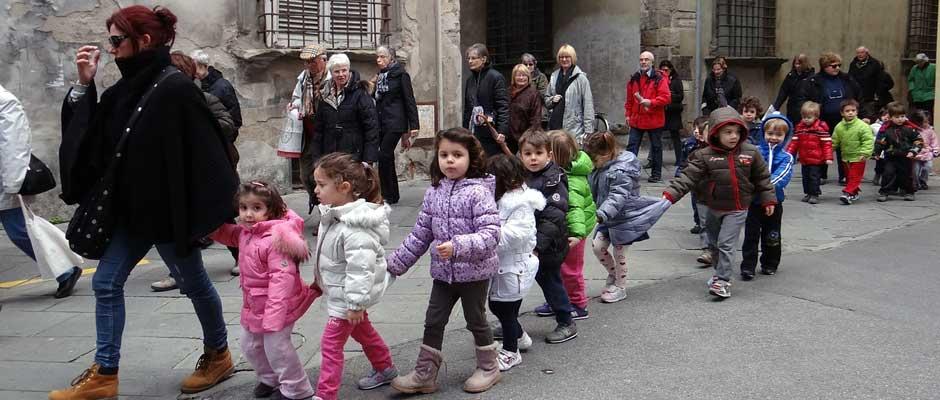 Kindergarten in Italien